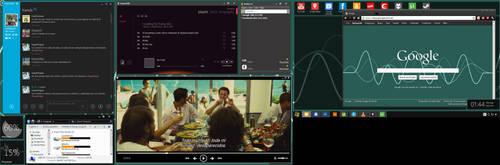 Minimal Metro Windows 7 (Dirty) by leoj15
