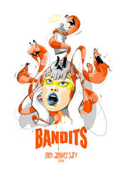 Bandits 20th Anniversary by caparsoworks