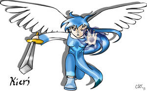 Slightly Damned Fan-art: Kieri by Gyrick