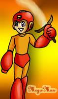Mega Man Firebrand by Gyrick