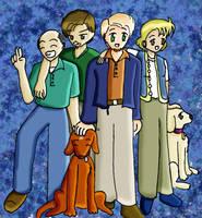 Olsen Family Anime Picture by Gyrick