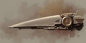 USS Flatiron by hunterkiller