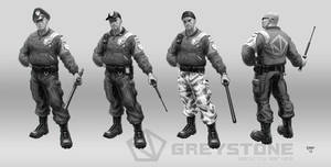 GREYSTONE Project - Guards 01 by hunterkiller