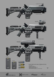 GREYSTONE Project - GoreArms 25mm Shotgun by hunterkiller