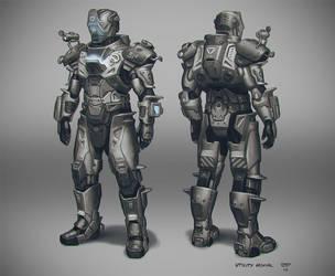 Utility Armor by hunterkiller