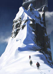 Mountain by hunterkiller