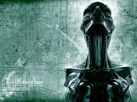 Biomechanoid 2000 by hunterkiller