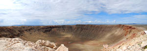 Meteor Crater Panorama Small by Phenix59