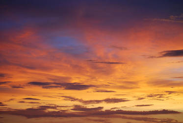 Sunset Clouds Stock 8182 by Phenix59