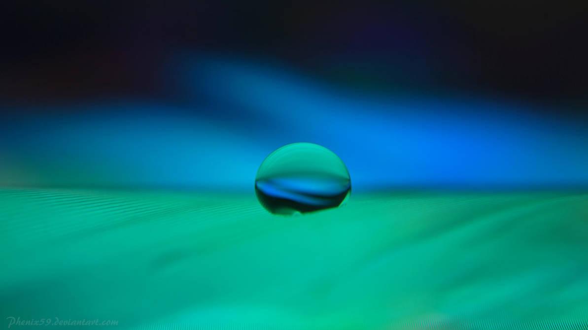 Azure Verde Background by Phenix59