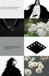 Kenpachi Zaraki- A Flower Among Weeds Aesthetic by Enthaga