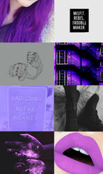 Neon- OC AESTHETIC Pt.1  by Enthaga