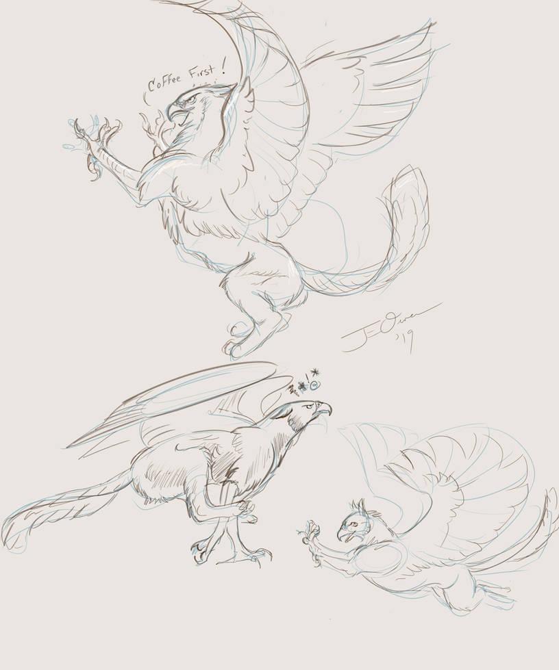 Sketches! by ElementalJess