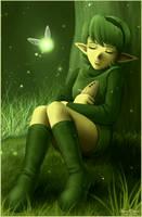 Forest sage by Annausagi