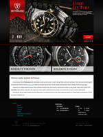 DeTomaso Watch Second version by Lifety