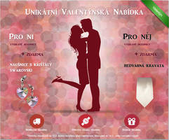 Valentine banner by Lifety