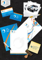 Intertrade corporate identity by Lifety