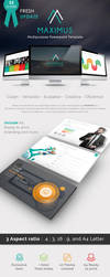 MAXIMUS - Business Powerpoint Presentation Templat by velozstar