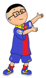 Me in Caillou Form by 1SamChen30Bluray