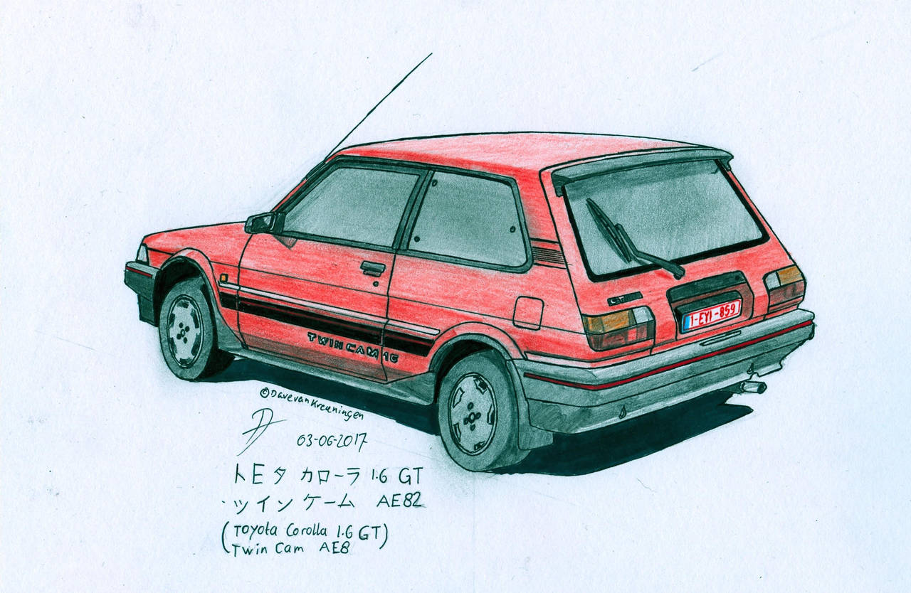 Commission  Toyota Corolla Ae82 Gt Twin