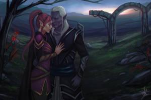 BG: Opposite worlds by Smilika