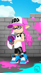 Inkling-pink by JennyBunte
