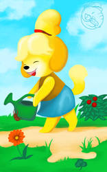 acnl-isabelle by JennyBunte