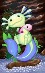 Axolotl by JennyBunte