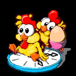 Pixel-Chicken by JennyBunte