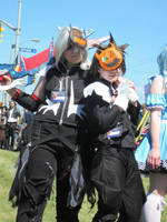 Halloween Town Riku and Sora by Nephrae