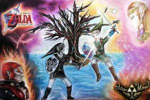 The legend of Zelda by Oscar-Manuel
