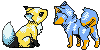 Pokemon Crystal Icons by Skeleion