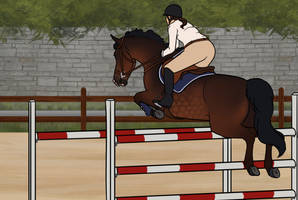 Crosby Show Jumping Clinic 2 by Maple-Meadows
