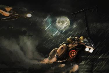 steampunk race by Silych