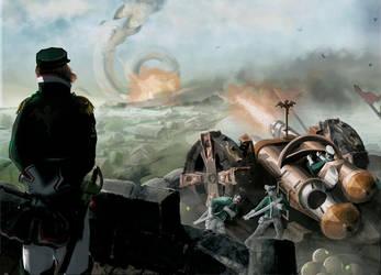 fantasy artillery by Silych