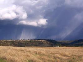 Rainy Hillside by almostAMAZING