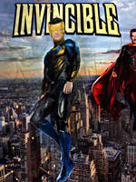 Invincible Movie Poster by SavageComics