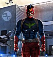 Jason O'Mara as The Patriot by SavageComics