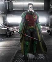Dceu Red Robin (rebirth) - Leo Howard by SavageComics