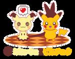Pikachu Twins ::GIFTS:: by Itachi-Roxas