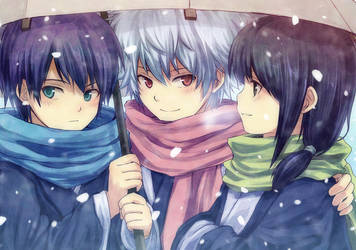 Gintama - Scarves by nuriko-kun