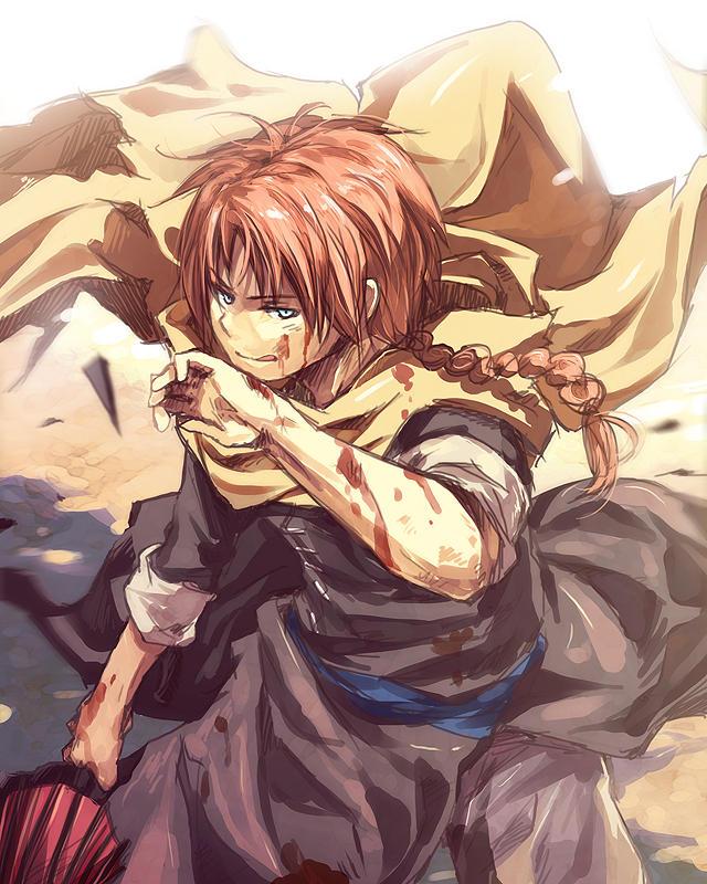 Gintama - Bloodstained by nuriko-kun