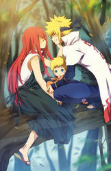 Uzumaki family by nuriko-kun