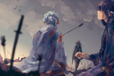Gintama - Daybreak by nuriko-kun