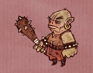 Tiny Troll by Adrian-Bloch
