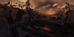 Greek apocalypse by Orelf