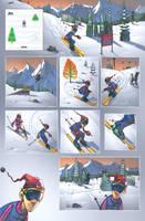 321: Fast Comics - Ski Nostalgia by FelipeCagno