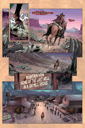 Few and Cursed Page Preview #3! by FelipeCagno