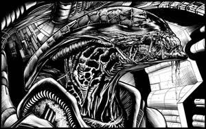 alien warrior by ashasylum