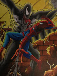 Spider-Man Vs Venom by GladiatorGaming